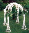 Where to rent GAZEBO, WHITE WICKER in Haverhill MA