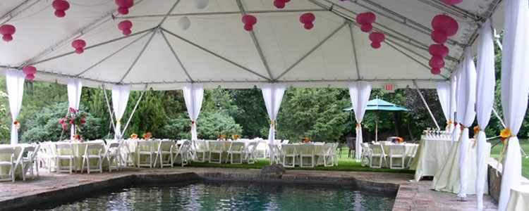 Tent rentals in Haverhill, Lawrence, Amesbury, West Newbury, Northern Massachusetts and New Hampshire