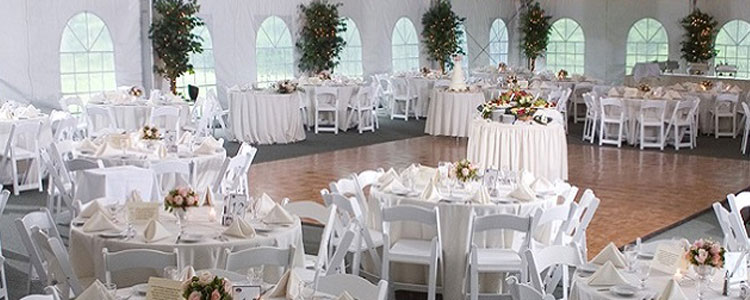 Event rentals in Haverhill, Lawrence, Amesbury, West Newbury, Northern Massachusetts and New Hampshire